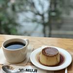 カフェ&ミール ムジ - 焼きプリン ブレンドコーヒー
