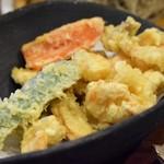 74943086 - 小えびと野菜天ぷら(小えび天ざる)