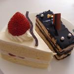 まちのくまさん - ショートケーキ