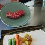 鉄板焼 石狩 - ふらの牛