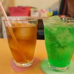 メイド喫茶 フィーユ - ソフトドリンク
