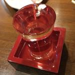 かしわ焼肉 ガラクタ酒場 - 日本盛 大吟醸