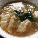 らーめんオクチャン - 料理写真:ワンタン麺 ¥780