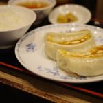 開楽 - 餃子定食
