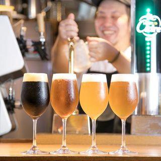 【クラフトビールも豊富にご用意♪♪】