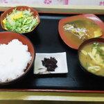 Ranchihausu - サバの味噌煮定食 440円