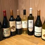 赤白ワイン各種