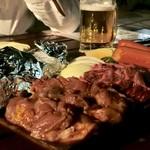 アール・リバーサイドグリル&ビアガーデン - BBQ盛り合わせ