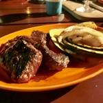 アール・リバーサイドグリル&ビアガーデン - ハラミ美味しかった!
