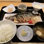 Ginzasugaya - とろさば塩焼き定食1000円