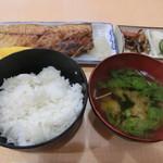 武蔵坊 弁慶 - さば塩定食800円