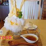 クロッシュ - アップルパイかき氷