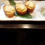 亜紗 - ズワイガニのガーリックトースト