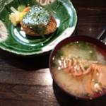 亜紗 - 焼おにぎり&ウチワエビ味噌汁