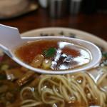 麺や 太華 - スープリフトアップ
