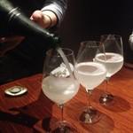 74956531 - 発泡吟醸酒でカンパーイ!
