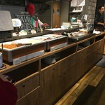 SALVATORE CUOMO & BAR - 【2日目】食事取り処(伊なコーナー)