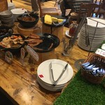 SALVATORE CUOMO & BAR - 【2日目】食事取り処(和なコーナー)