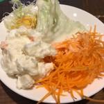 SALVATORE CUOMO & BAR - 【2日目】サラダな部分