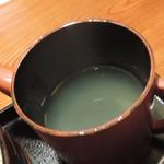 鳥元 - 蕎麦湯