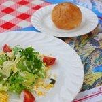 スイスレストラン アルピナ - 料理写真:前菜のサラダです