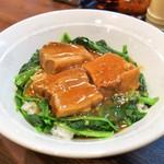中華料理 華楽 - 料理写真:豚の角煮丼(800円)