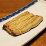 明神下 神田川 - 鰻の白焼き