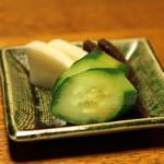 明神下 神田川 - 香の物