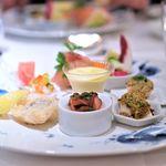 リストランテ 濱崎 - 季節の素材を生かした前菜の盛り合わせ