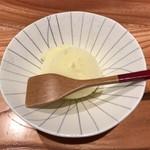 大阪うなぎ組 - 甘味:柚子シャーベット