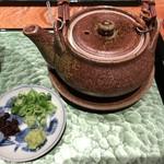 大阪うなぎ組 - お茶漬け用の出汁