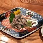 大阪うなぎ組 - 追加注文:肝わさ 800円(税抜)
