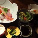 松江の台所 こ根っこや - (2017年07月)海鮮丼ランチ