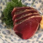 日本橋 かぶき - 日替わりランチのカツオの刺身