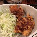 かぶき - 日替わりランチの鶏のから揚げ