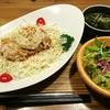 カフェ 桜コ.. - 料理写真:焙煎ナッツのグリルチキンどん。