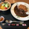 悠湯の郷 ゆさ - 料理写真:会議の昼食で出たカツカレー