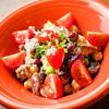 コリコリ砂肝と4種豆のサラダ