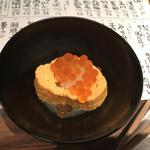ぽんしゅや三徳六味 - イクラ出し巻き