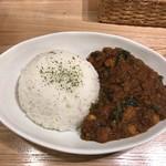 コスギカレー - ほうれん草ひよこ豆チキンカレー