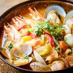 魚介のカタプラーナ~ポルトガル風ブイヤベース~
