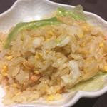 蓮双庭 - レタス炒飯
