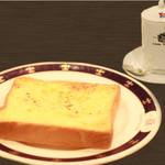 ロンドンティールーム - チーズトーストセット