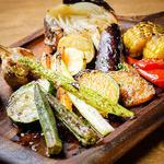 産直野菜のオーブン焼き