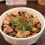 74968534 - 炙りチャーシュー丼¥300