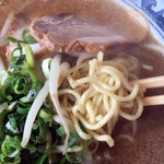 北のらー麺 らう家 - 味噌ラーメン620円