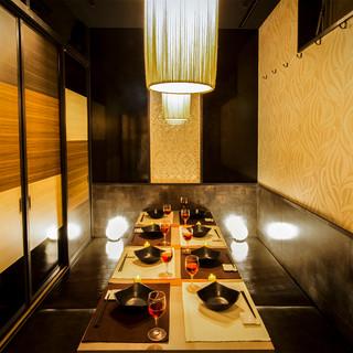 松戸駅1分♪広々とした個室席は最大50名様以上もご利用可能