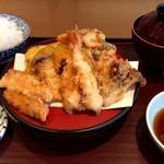 てんぷら食堂 ひさご - 秋の天ぷら定食