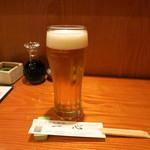 海鮮居酒屋 一心 - 生ビール