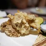 十番右京 - ポルチーニ茸の天ぷら